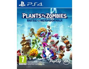 PLANTS VS ZOMBIES:BATTLEFORNEIGHBORVILLE AZIONE - PLAYSTATION 4