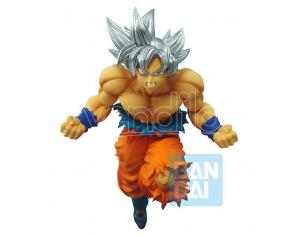 Dragon Ball Statua Super Son Goku Ultra Instinct Battaglia Z Figura 16 cm Bandai