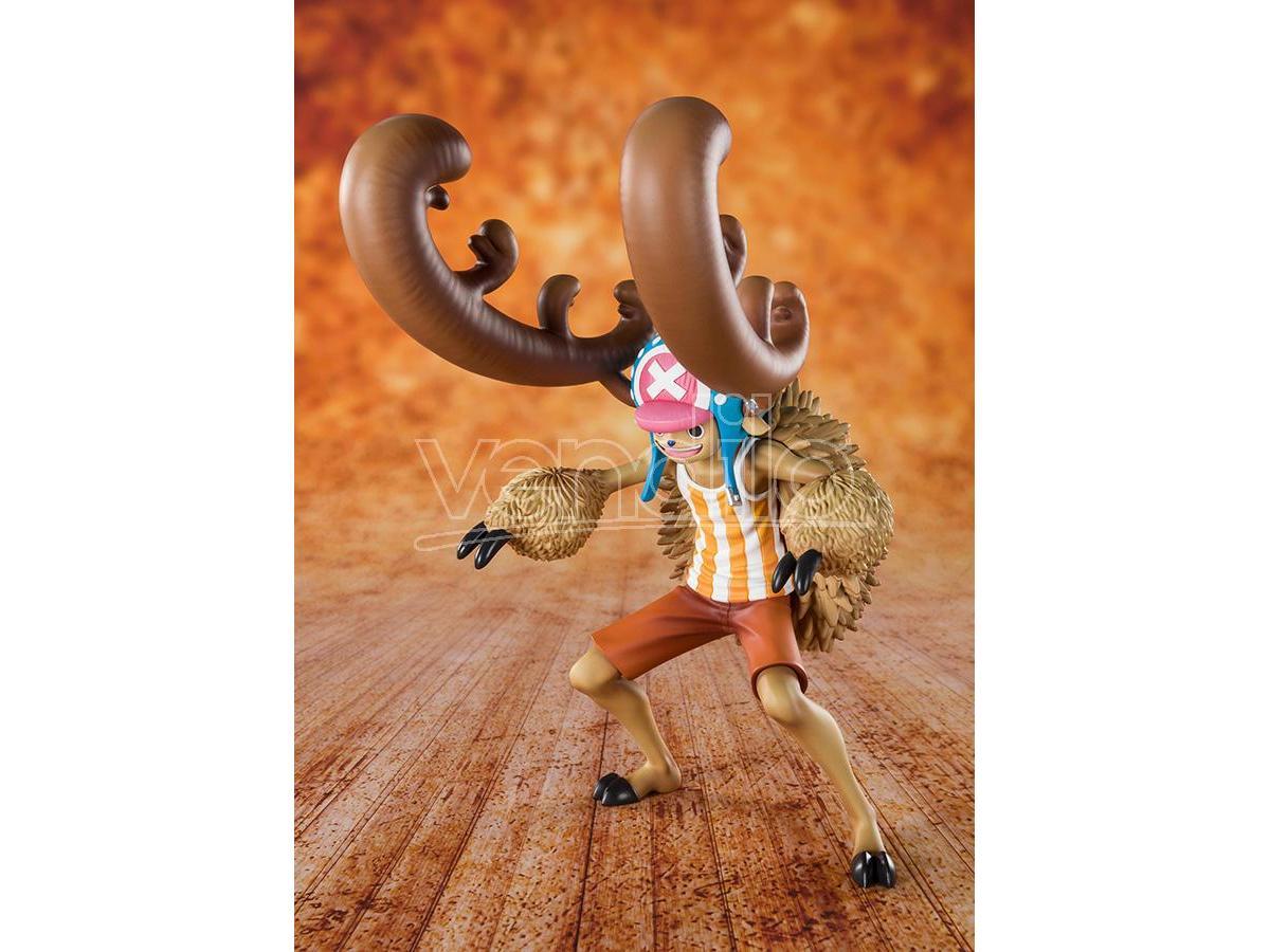 One Piece Zero Statua Chopper Horn Point Figura 14 cm Bandai