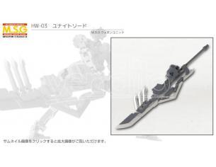 KOTOBUKIYA HEAVY WEAPON UNITE SWORD MODEL KIT