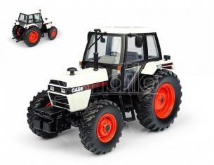 Universal Hobbies UH6208 TRATTORE CASE 1494 4WD WHITE/BLACK VERSION 1:32 Modellino