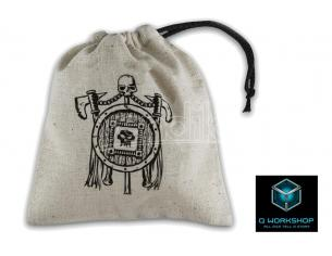 Q WORKSHOP ORC BEIGE DICE BAG ACCESSORI