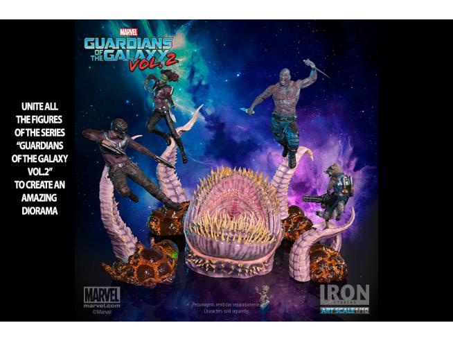 IRON STUDIO GUARDIANS O/T G 2 DRAX BDS ART 1/10 ST STATUA