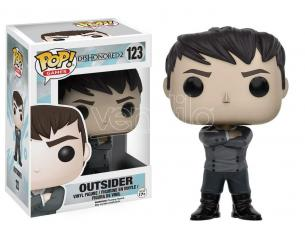 Funko Dishonored 2 POP Games Vinile Figura Outsider 9 cm Scatola Rovinata
