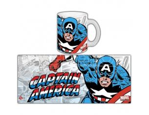 SEMIC MARVEL RETRO CAPTAIN AMERICA MUG TAZZA