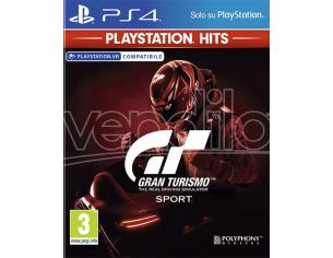 GRAN TURISMO SPORT PS HITS GUIDA/RACING - PLAYSTATION 4