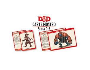 ASTERION D&D V ED. CARTE MOSTRO SFIDA 0-5 ACCESSORI