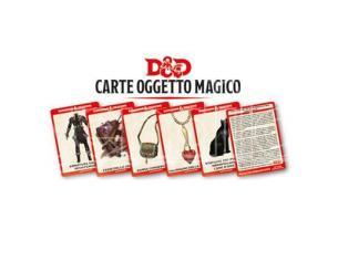 ASTERION D&D V ED. CARTE OGGETTO MAGICO ACCESSORI
