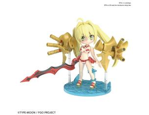 BANDAI MODEL KIT PETIT RITS CASTER NERO CLAUDIUS MODEL KIT