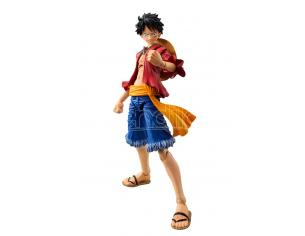MEGAHOUSE ONE PIECE MONKEY D LUFFY VAR ACT HEROES ACTION FIGURE