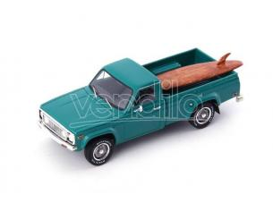 Autocult ATC08012 MAZDA ROTARY PICK-UP (WITH SURF BOARD) 1974 TURQUOISE 1:43 Modellino