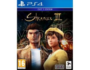 SHENMUE III D1 EDITION AZIONE - PLAYSTATION 4