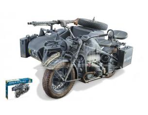 Italeri IT7406 ZUNDAPP KS 750 W/SIDECAR KIT 1:9 Modellino