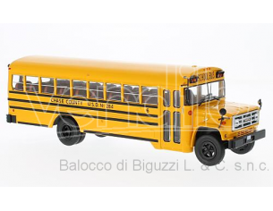 Bburago BUS004 GMC 6000 SCHOOLBUS 1990 REPRODUCTION 1:43 Modellino