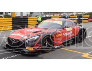 Spark Model SA162 MERCEDES GT3 N.888 2nd FIA GT WORLD CUP MACAU 2018 M.ENGEL 1:43 Modellino