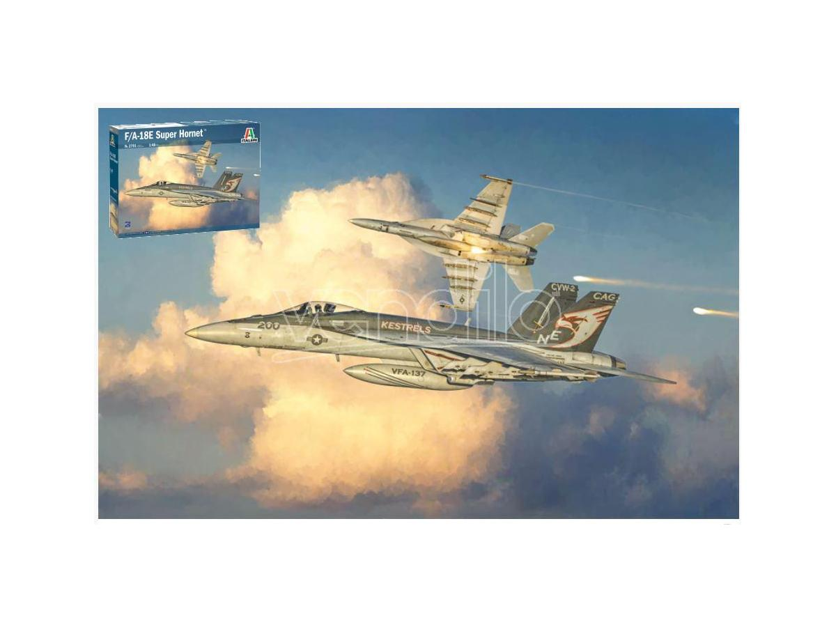 Italeri IT2791 F/A 18E SUPERHORNET KIT 1:48 Modellino