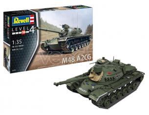 Revell RV03287 M48 A2CG KIT 1:35 Modellino