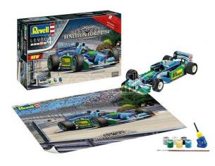 Revell RV05689 GIFT SET 25th ANNIVERSARY BENETTON FORD KIT 1:24 Modellino