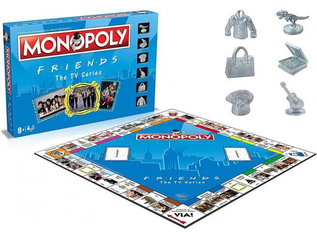 Monopoly AS Roma Gioco da Tavola Winning Moves