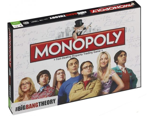 Monopoly The Big Bang Theory Gioco da Tavolo Versione Italiana Winning Moves