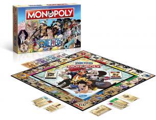 Monopoly One Piece Gioco da Tavolo Versione Italiana Winning Moves