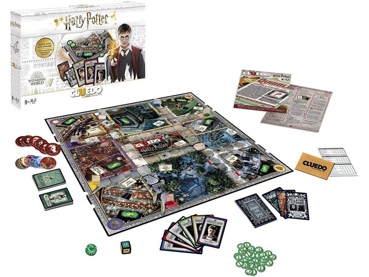 Cluedo Harry Potter Edizione Collezione Gioco da Tavolo Italiano Winning Moves