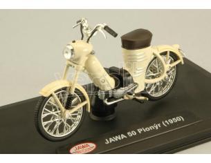 Abrex ABM001Y JAWA 50 PIONYR 1950 CREAM 1:18 Modellino