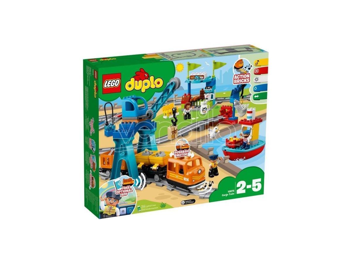 LEGO DUPLO 10875 - TOWN IL GRANDE TRENO MERCI