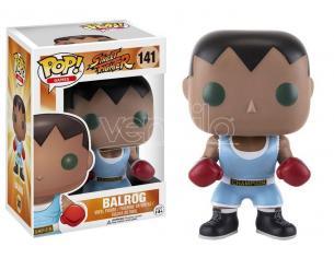 Funko Street Fighter POP Games Vinile Figura Balrog 9 cm Scatola Rovinata