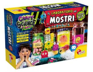 CRAZY SCIENCE LAB. MOSTRI STARTER KIT GIOCHI EDUCATIVI