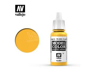 VALLEJO MC 015 FLAT YELLOW 70953 COLORI