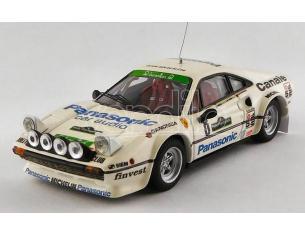 Best Model BT9763 FERRARI 308 GTB GR.4 N.8 WINNER RALLY PIANCAVALLO 1982 TOGNANA-DE ANTONI Modellino