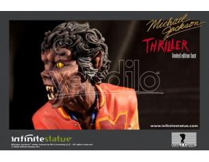 Busto Michael Jackson Thriller 1982 resina 18 cm Figura Statua Infinite Statue