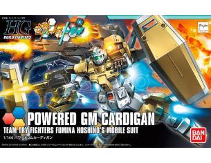BANDAI MODEL KIT HGBF POWERED GM CARDIGAN 1/144 MODEL KIT