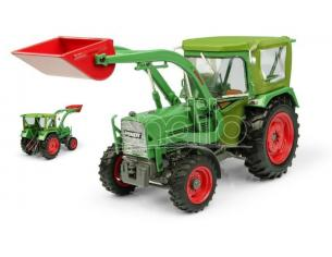Universal Hobbies UH5310 TRATTORE FENDT FARMER 5S 4WD WITH PEKO CABIN AND BAAS FRONT LOADER 1:32 Modellino