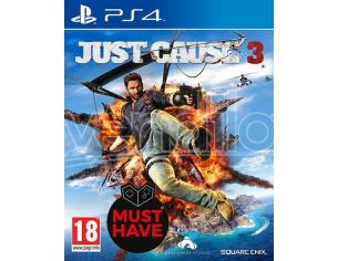 JUST CAUSE 3 STANDARD EDITION MUSTHAVE AZIONE - PLAYSTATION 4