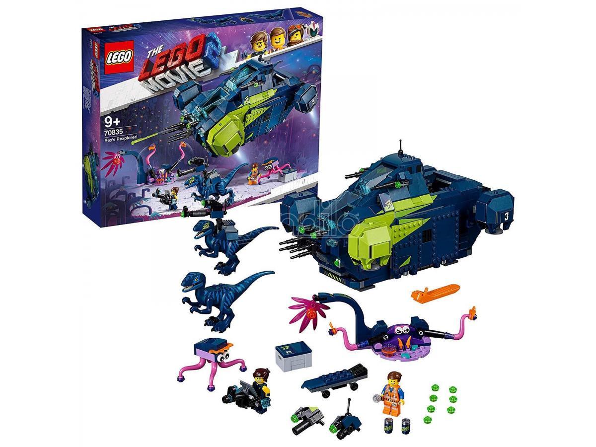 LEGO MOVIE 2 70835 - IL REXPLORER DI REX!
