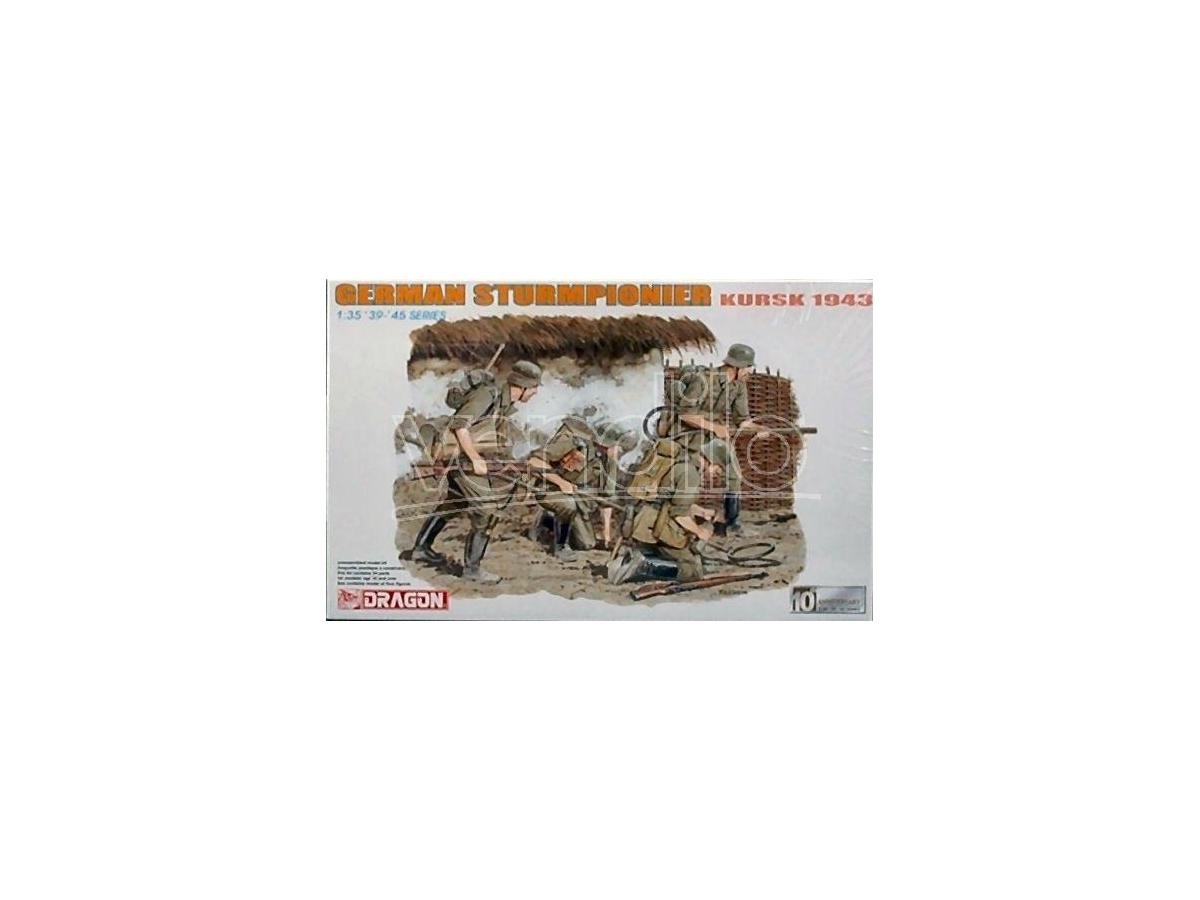 Dragon D6024 GERMAN STURMPION.KURSK'43 KIT 1:35 Modellino