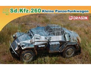 Dragon D7446 SD.KFZ.260 KLEINE PANZERFUNKWAGEN KIT 1:72 Modellino