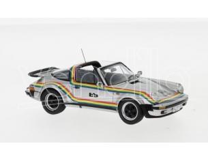 Neo Scale Models NEO49593 PORSCHE 911 TURBO TARGA B+B 1982 SILVER 1:43 Modellino