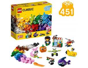 LEGO CLASSIC 11003 SET MATTONCINI E OCCHI