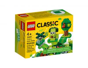 LEGO CLASSIC 11007 SET MATTONCINI VERDI CREATIVI