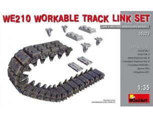 Miniart MIN35323 WE210 WORKABLE TRACK LINK SET KIT 1:35 Modellino