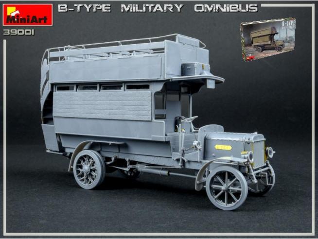 Miniart MIN39001 B-TYPE MILITARY OMNIBUS KIT 1:35 Modellino
