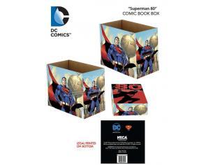 NECA DC SUPERMAN 80 COMIC BOOK BOX ACCESSORI