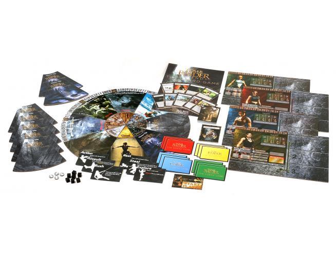 SQUARE ENIX TOMB RAIDER - THE BOARD GAME GIOCO DA TAVOLO