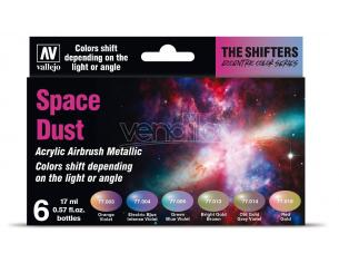 VALLEJO COLORSHIFT SPACE DUST SET 77091 COLORI