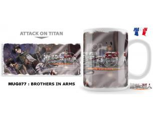 UNEKORN AOT BROTHERS IN ARMS MUG TAZZA