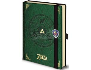 PYRAMID INTERNATIONAL LEGEND OF ZELDA NOTEBOOK PREMIUM TACCUINO