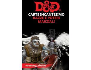 ASTERION D&D V ED. CARTE INCANT. RAZZE E POTERI GIOCO DI RUOLO